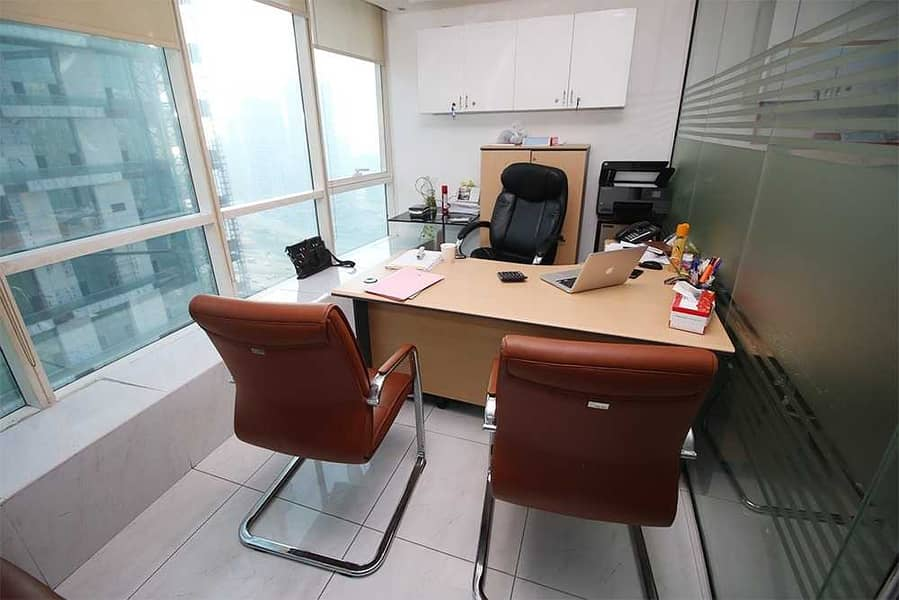 2 Fully Fitted Office | Fortune Tower |  Lake View