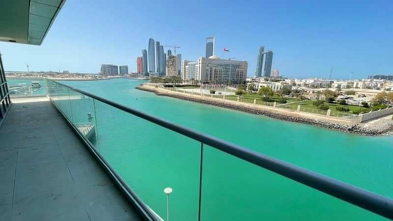 2 BEDS No Commission - Beautiful Water Views – Balcony – Amazing Amenities Facing Sea view and Emirates Palace