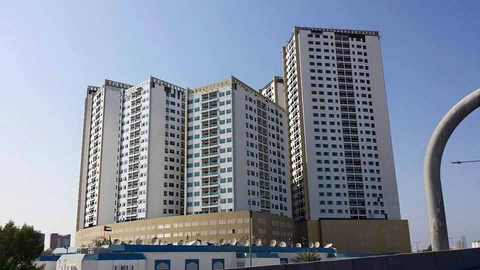 The Ideal Investment! Studio Flat in Ajman Pearl, for  prersonal use or for rental.
