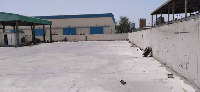 Industrial Land for Sale in Al Jurf, Ajman - 29062 SQ FT INDUSTRIAL OPEN LAND WITH BOUNDARY WALL IN AL JURF INDUSTRIAL