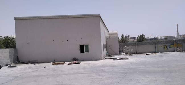 Industrial Land for Sale in Al Jurf, Ajman - INDUSTRIAL LAND WIHT BOUNDARY WALL IN JURFINDUSTRIAL AREA
