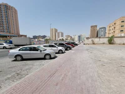 Plot for Sale in Al Nuaimiya, Ajman - 12005 SQ FT 2 SIDES ROAD FRONT AND BACK  IDEAL DIMENSION COMMERCIAL LAND IN NUAMIYAH 1