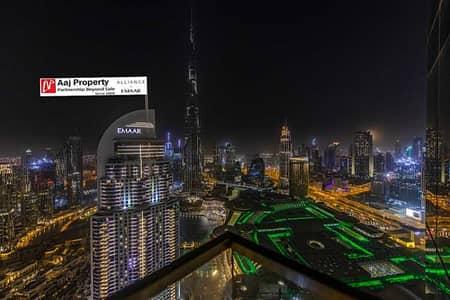 شقة 3 غرف نوم للبيع في وسط مدينة دبي، دبي - Fantastic | Burj & Fountain view & Dubai Skyline !