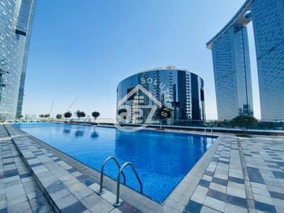 استوديو  للايجار في جزيرة الريم، أبوظبي - Bigger Studio Flat L shape Type  in Arc Tower