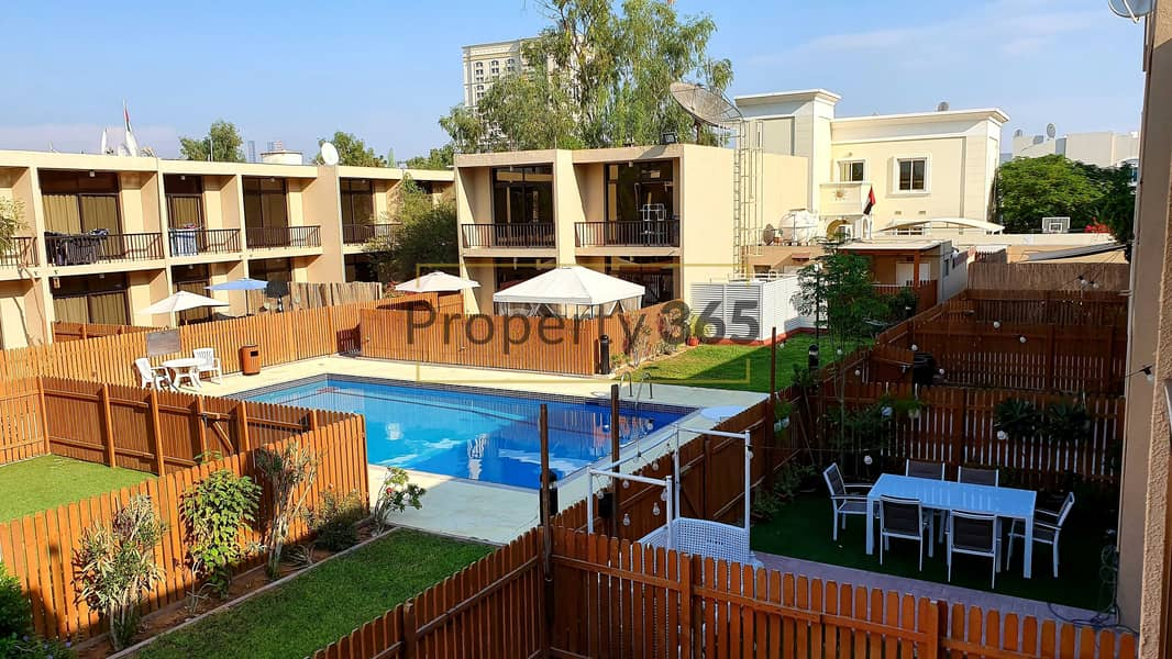 Amazing Layout / 3 Bedrooms  extra Maid`s Room / Perfect Community