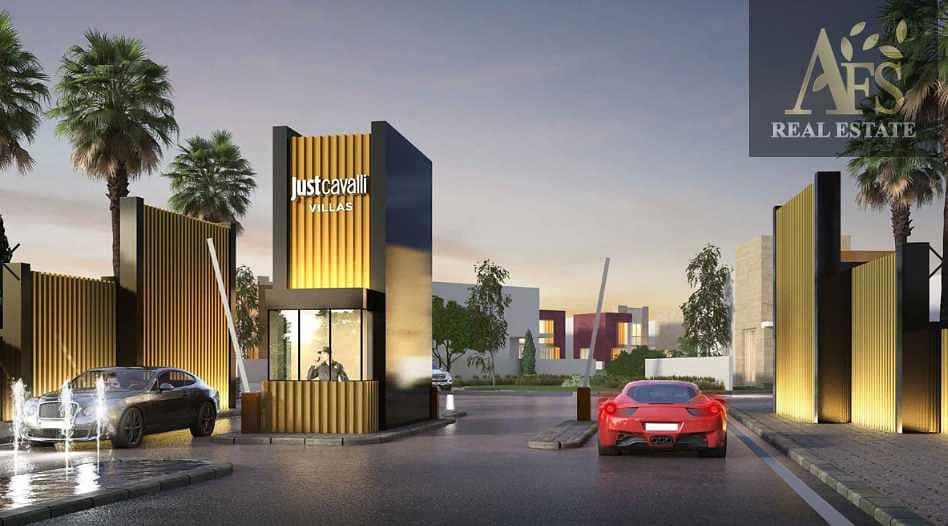 Cavalli Designed Villas| Branded and Modern Themed