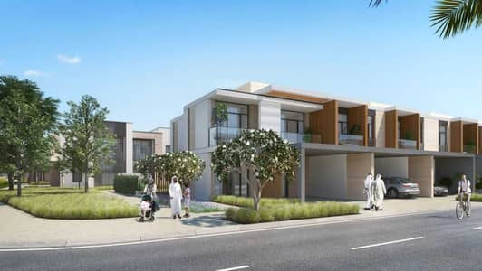 3 Bedroom Townhouse for Sale in Dubailand, Dubai - Three bedrooms townhouse with 1% monthly payment