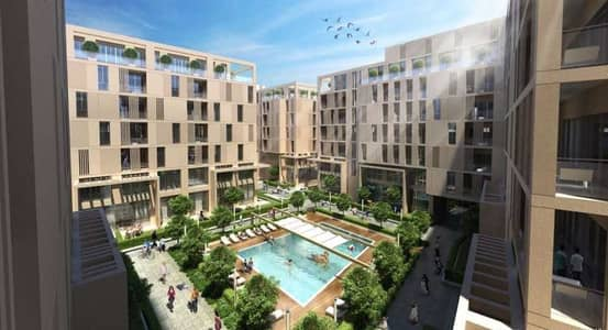 1 Bedroom Apartment for Sale in Aljada, Sharjah - Invest now in apartments in Sharjah with only AED 2800 a monthly payments