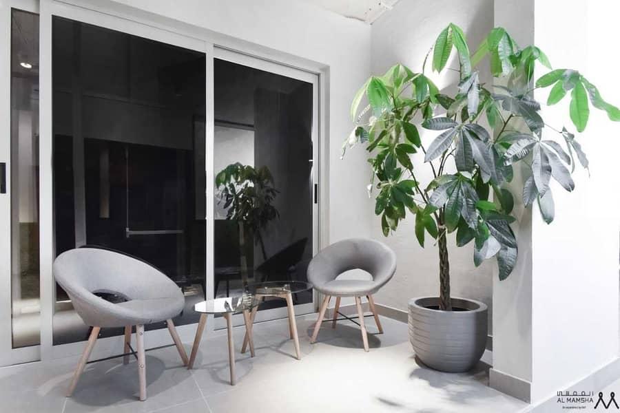 Waterfront Living Studio  Apartment Located in Maryam Island Sharjah