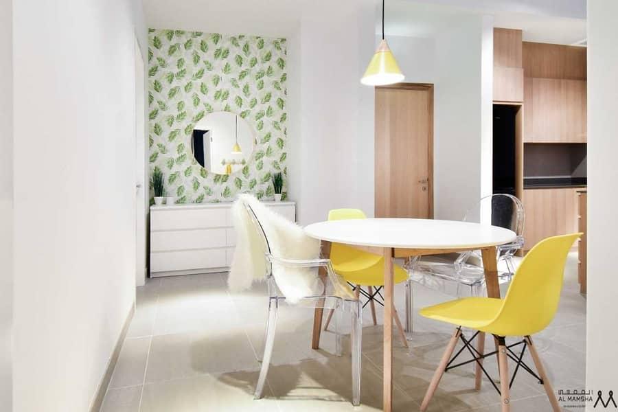 2 Waterfront Living Studio  Apartment Located in Maryam Island Sharjah