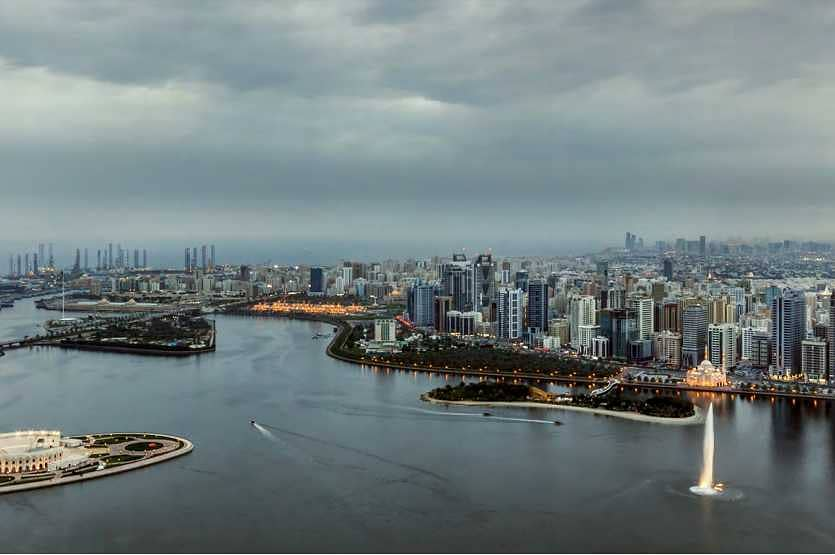 2 You'll fall in Love with the View of this 1-BR Apartment with Convenient Location  at Sharjah