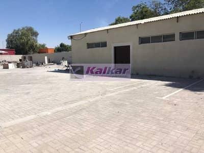 ارض تجارية  للايجار في القوز، دبي - ! GOOD LOCATION ! 2000 SQFT OFFICE WITH 18000 SQFT INTER LOCKED LAND IN ALQUOZ AED: 230