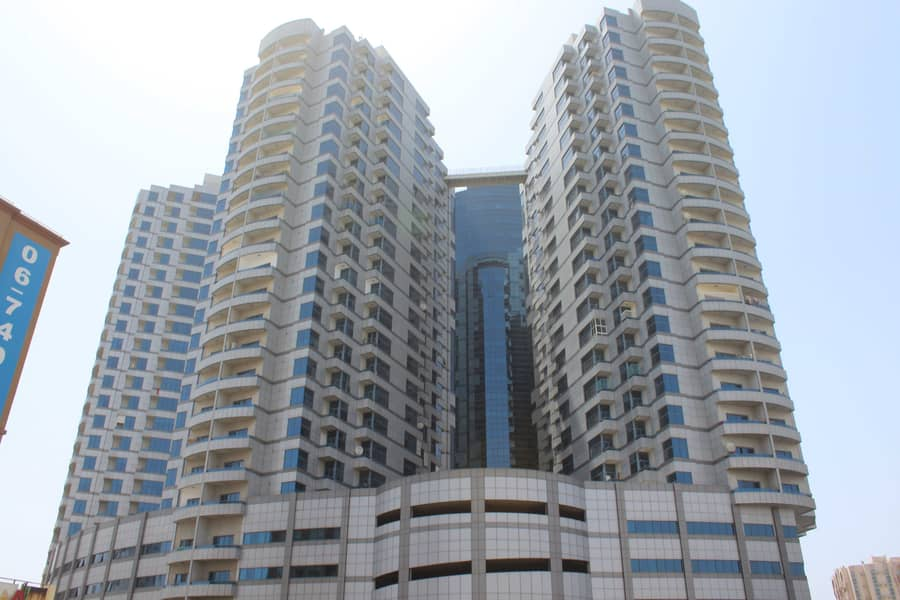 2 BHK available for sale in falcon tower ajman