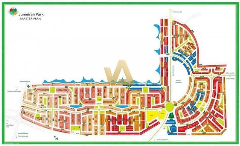 Villa Plot in Jumeirah Park with Payment Plan