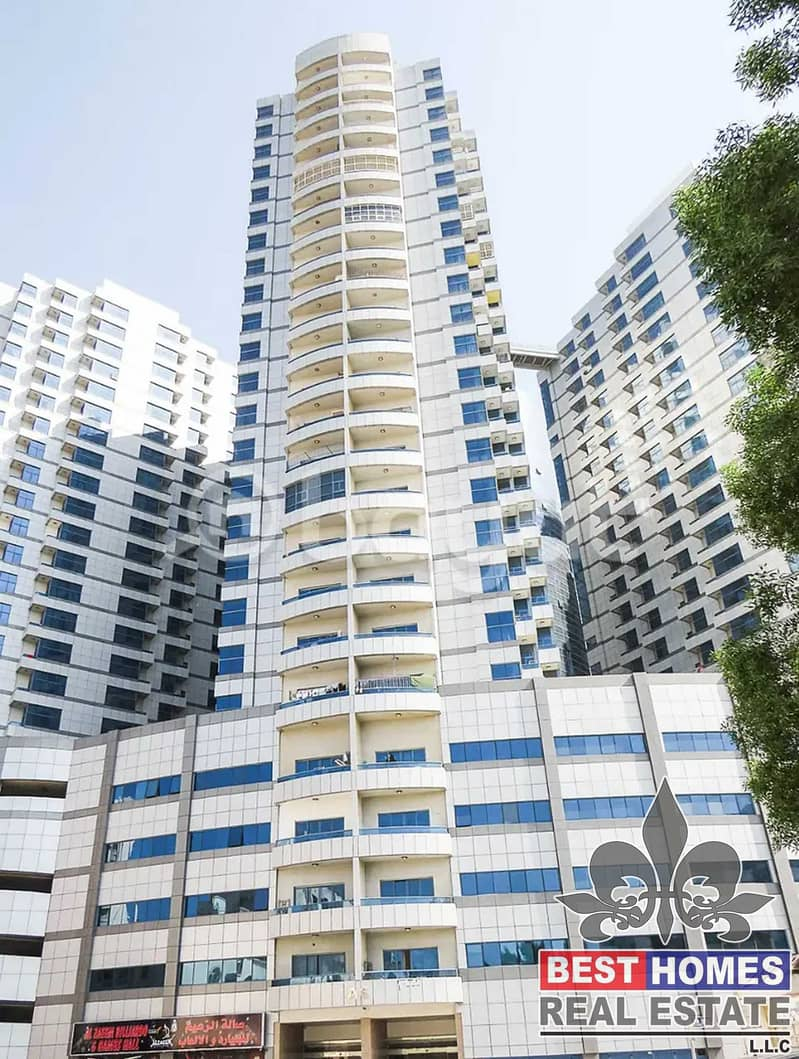 Studio Available for rent in Falcon Tower Ajman