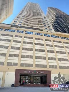 شقة في برج الزنبق مدينة الإمارات 1 غرف 145000 درهم - 5107521