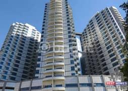 شقة في فالكون تاورز الراشدية 2 الراشدية 1 غرف 240000 درهم - 4960173