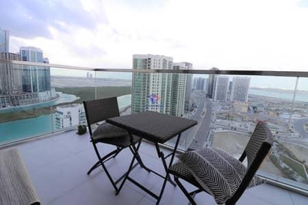 شقة 2 غرفة نوم للايجار في جزيرة الريم، أبوظبي - Furnished No Agency fees 13 months Relaxing Water views Balcony