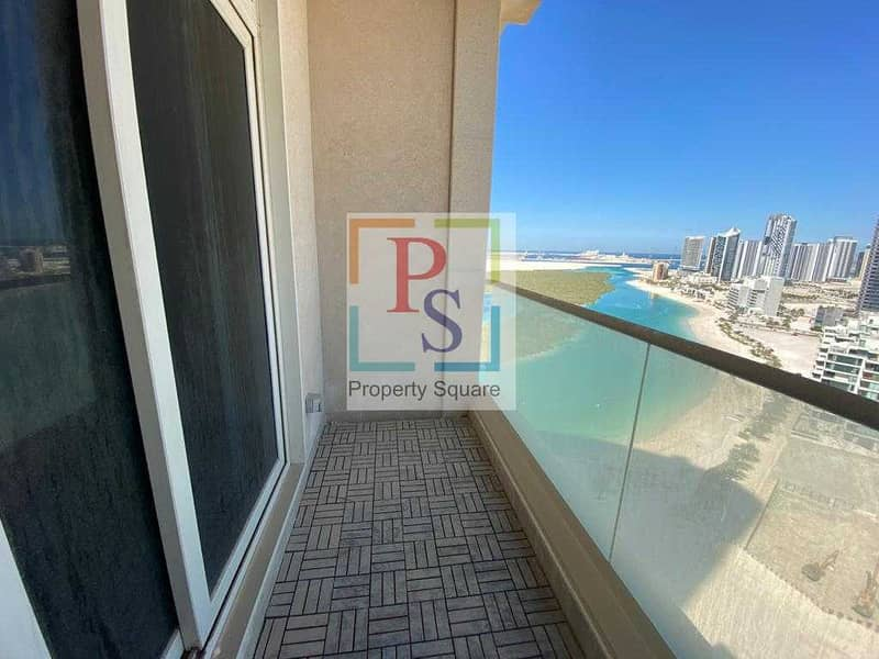Amazing 2BR Apt in Mangroves with Balcony.