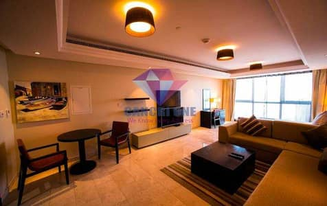 Studio for Rent in Corniche Area, Abu Dhabi - Fully Furnished | Housekeeping | Luxury Living!