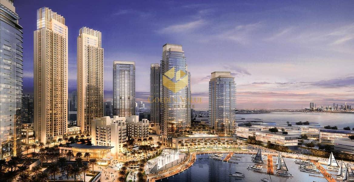 بنتهاوس في هاربور فيوز 1 هاربور فيوز مرسى خور دبي ذا لاجونز 4 غرف 6800000 درهم - 5118434