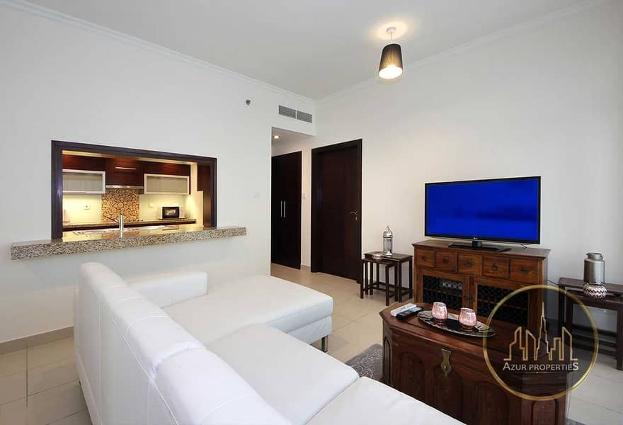 2 1br High Floor |Bright Apartment |Chiller Free