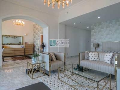 بنتهاوس 4 غرف نوم للبيع في نخلة جميرا، دبي - Stunning Upgraded Duplex Penthouse