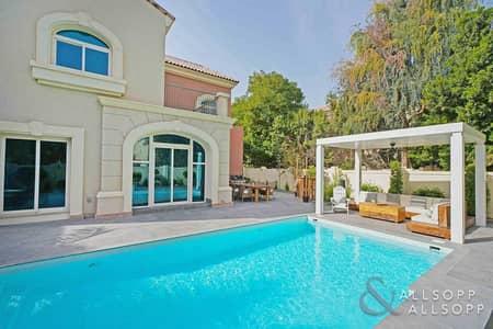5 Bedroom Villa for Sale in Dubai Sports City, Dubai - Stunning 5 Bed C2   Pool   Park Backing