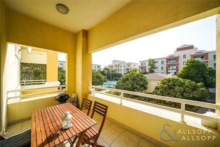 شقة 1 غرفة نوم للبيع في جرين كوميونيتي، دبي - Upgraded | Pool Views | Balcony | 1 Bed