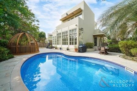 فیلا 3 غرف نوم للبيع في المرابع العربية، دبي - Upgraded 3 Bed | Private Pool | Park view