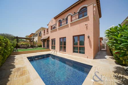 4 Bedroom Villa for Sale in Jumeirah Golf Estates, Dubai - New Listing - Golf View - Immaculate - 4BR