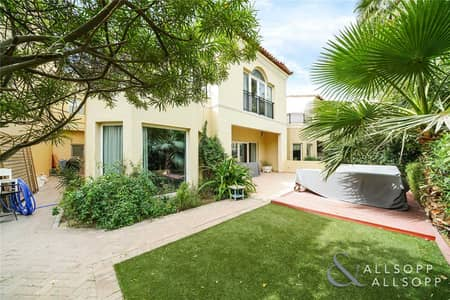 4 Bedroom Villa for Sale in Green Community, Dubai - Exclusive   Backing Green Space   4 Beds
