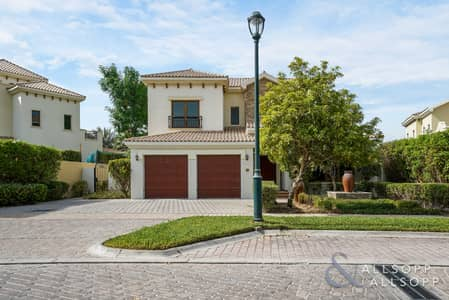 4 Bedroom Villa for Sale in Jumeirah Golf Estates, Dubai - Exclusive - Almeria Type - Rare Basement