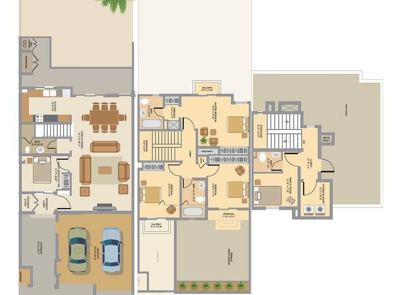 25 Exclusive   Backing Park   4 Bed Plus Maid