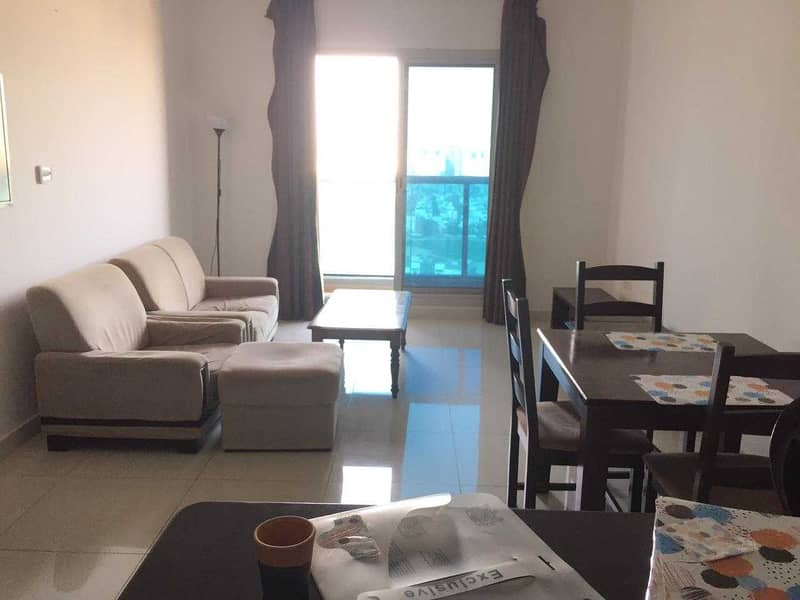 FULLY FURNISHED 1 BED ROOM FOR RENT IN SOPRTS CITY 35,000