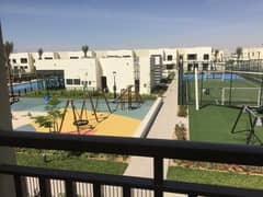 Pool and Park view 3 bedroom +maids room Type 1 Brand new Naseem Town house