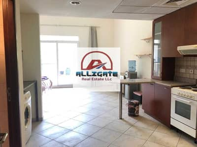 Studio for Rent in Motor City, Dubai - SPACIOUS STUDIO   FURNISHED   WITH BALCCONY