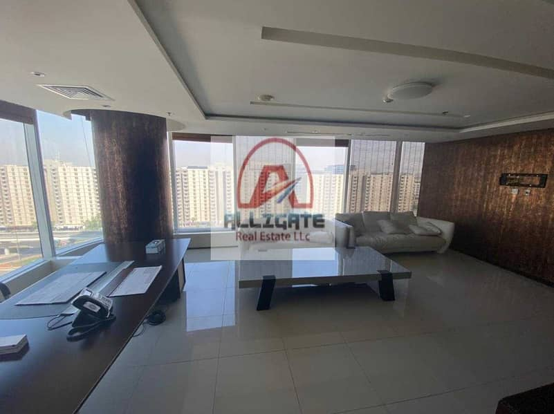 2 Fully fitted office for rent in Sheikh Zayed Road near metro