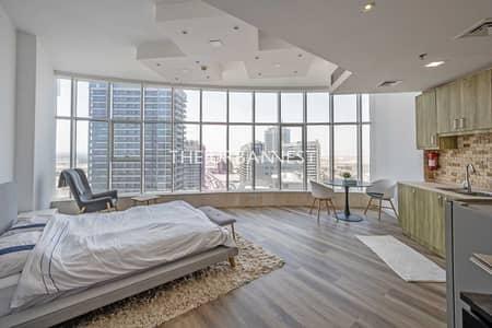 استوديو  للبيع في مدينة دبي الرياضية، دبي - Studio | Full Glass Glaze Window | Community View