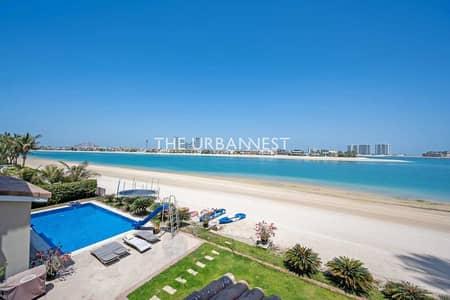 فیلا 6 غرف نوم للايجار في نخلة جميرا، دبي - Stunning Fully Furnished Villa   Tip Palm Jumeirah