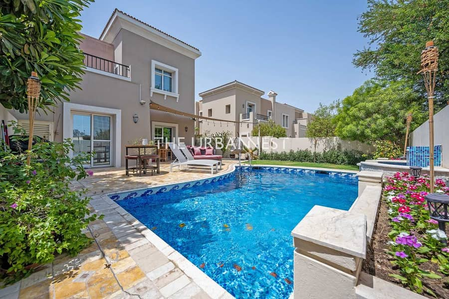 New and Exclusive   Upgraded with Pool Single Row