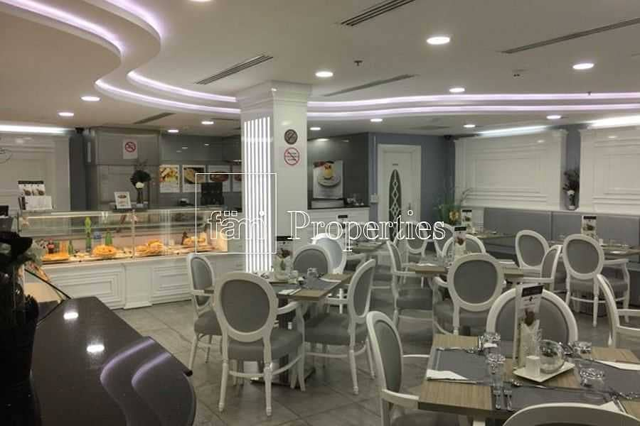 2 Fully Fitted Restaurant in JLT Saba Tower for Sale