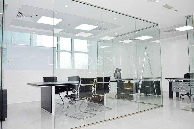 Available  Fitted Office Space in The Dome Tower