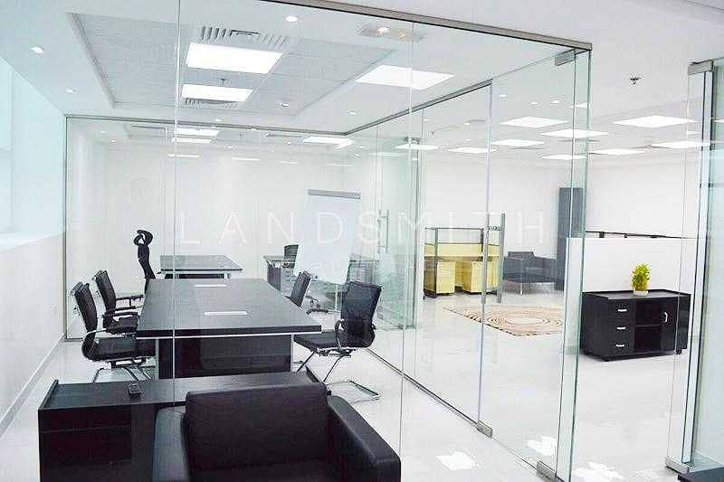 2 Available  Fitted Office Space in The Dome Tower
