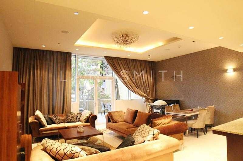 Fully Furnished 1BR Vacant Apartment on Low Floor