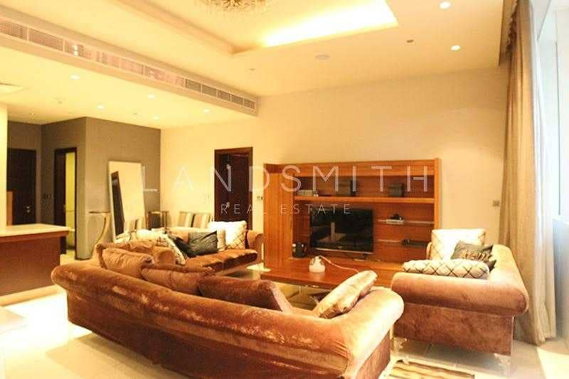 2 Fully Furnished 1BR Vacant Apartment on Low Floor