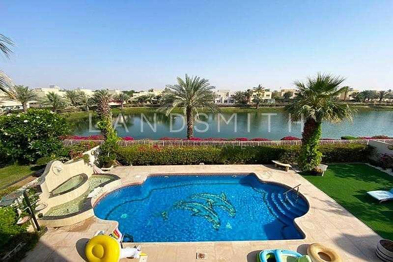2 Full Lake view Upgraded 4BR Hattan E2 Villa