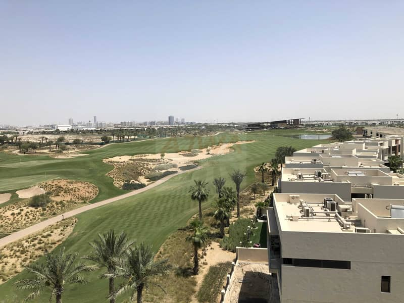 15 Amazing Deal | Furnished Studio | Damac Hills with Golf View