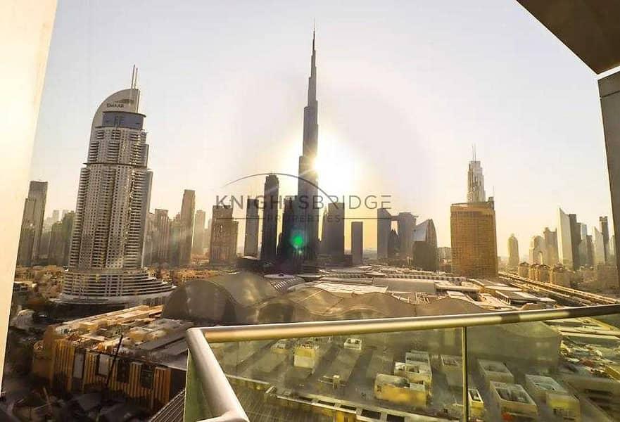 Burj Khalifa View |  Hotel Apartment for Sale