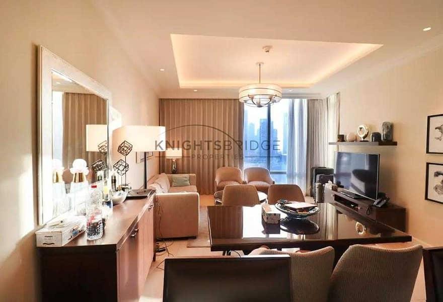 2 Burj Khalifa View |  Hotel Apartment for Sale